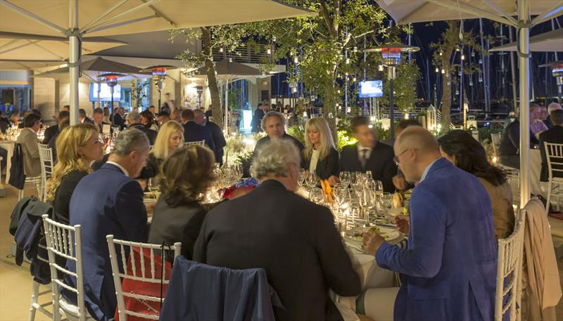 Dinner - The Nations Trophy Mediterranean League 2019 - photo © Giulio Testa