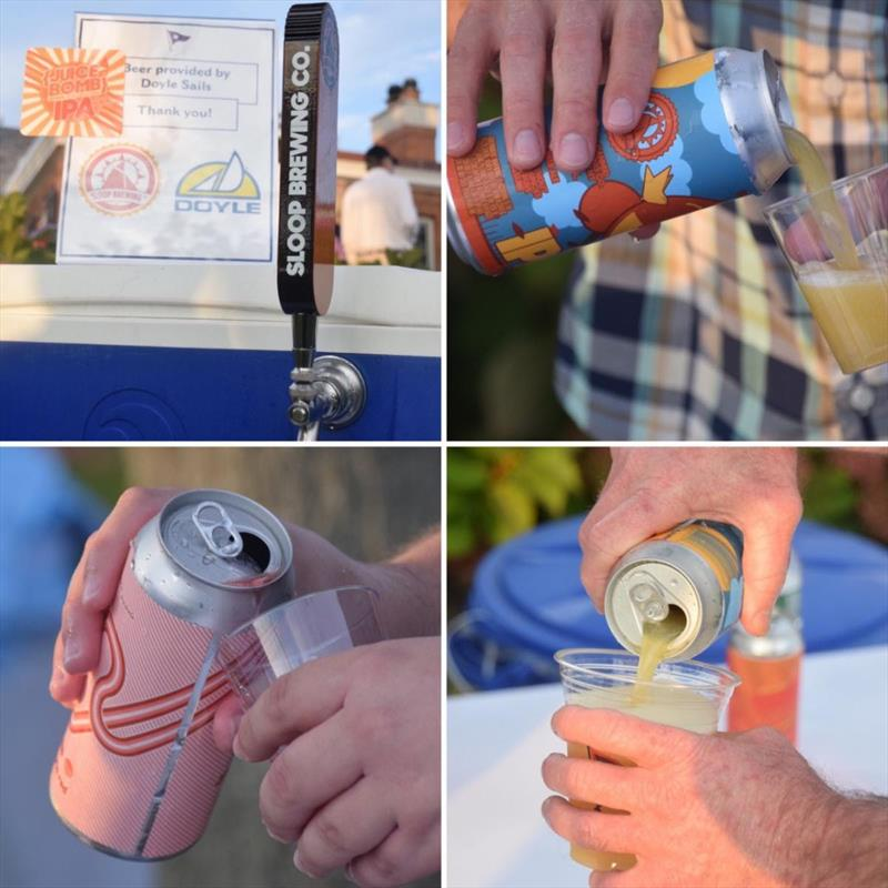 Beer tasting at 2019 American Yacht Club Fall Regatta photo copyright American Yacht Club taken at American Yacht Club