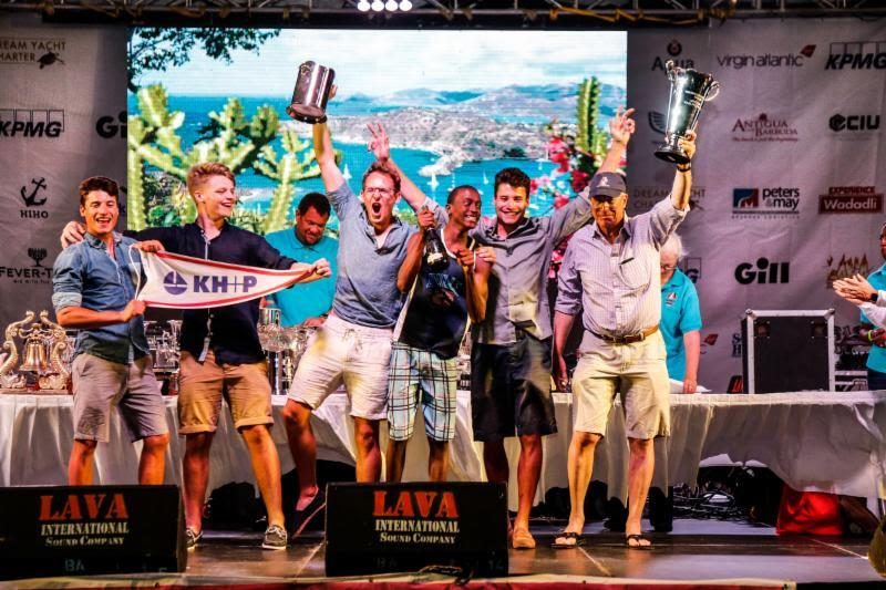 2019 Bareboat Overall winners -  KH P Barbuda from Dream Yacht Charter - Antigua Sailing Week - photo © Paul Wyeth / pwpictures.com