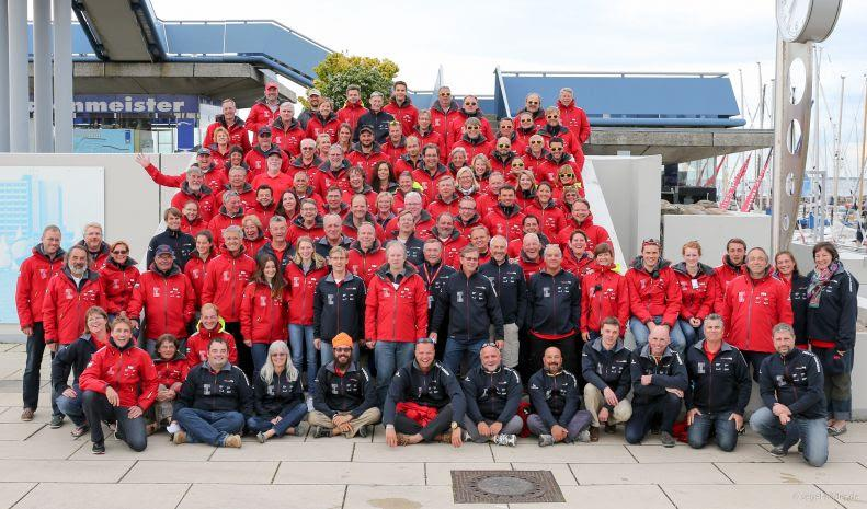 Helly Hansen is closely connected with the Kiel Week and the hosting Kiel Yacht Club and is taking part in the international sailing event as the official clothing supplier for the 17. time after a two-year break - photo © Kieler Woche / www.segel-bilder.de