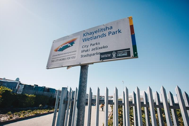 The team visited Khayelitsha Wetlands Park photo copyright Atila Madrona / Vestas 11th Hour Racing taken at