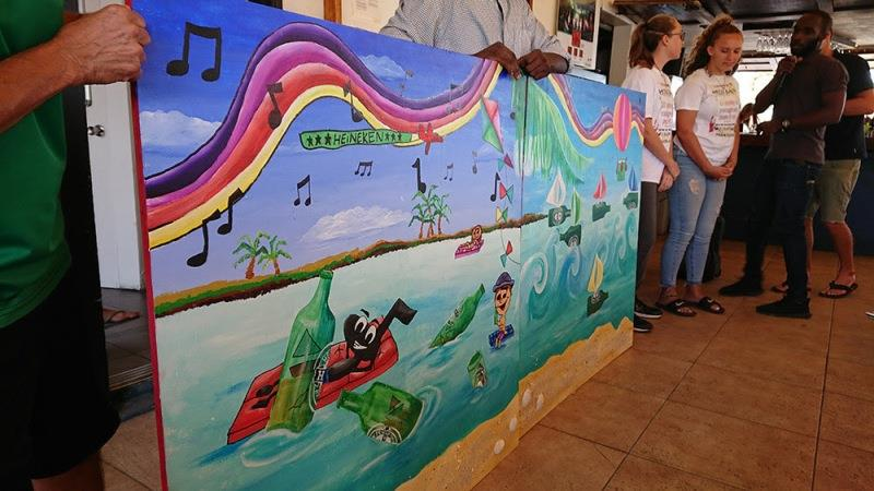 St. Maarten Regatta Art Competition - photo © St. Maarten Regatta