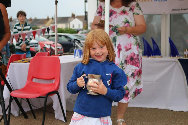 Youngest Competitor Josie Heppell age 4 - photo © James Stacey