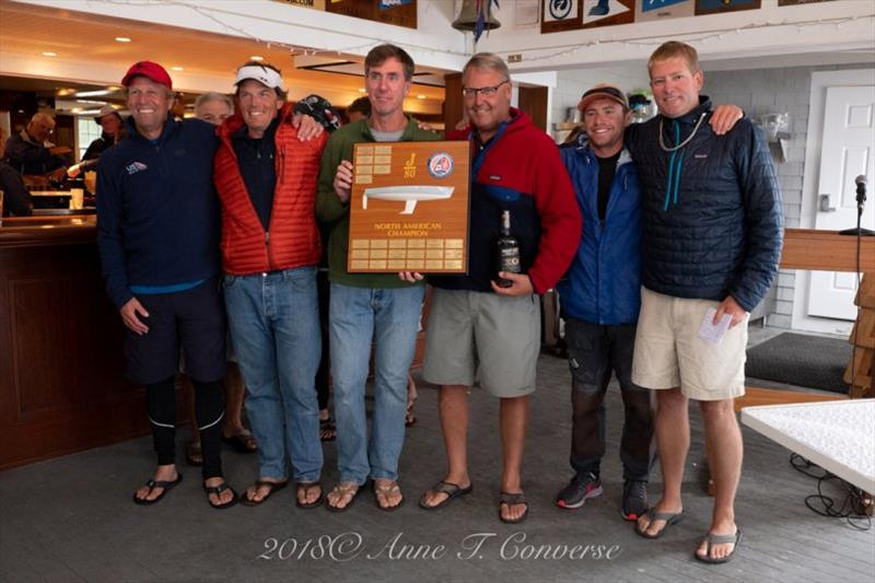 Chip Johns wins the 2018 J/80 North American Class Championship - photo © Anne T. Converse