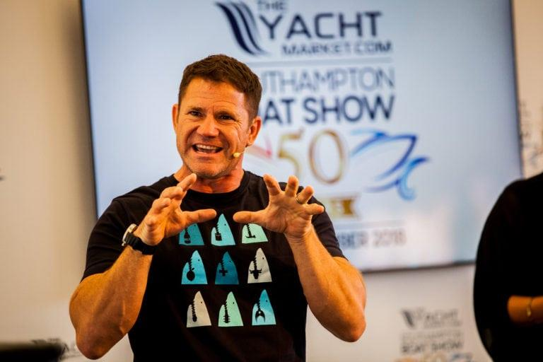 Steve Backshall at the TheYachtMarket.com Southampton Boat Show - photo © British Marine