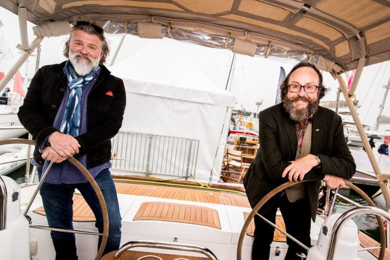 Hairy Bikers at TheYachtMarket.com Southampton Boat Show - photo © British Marine