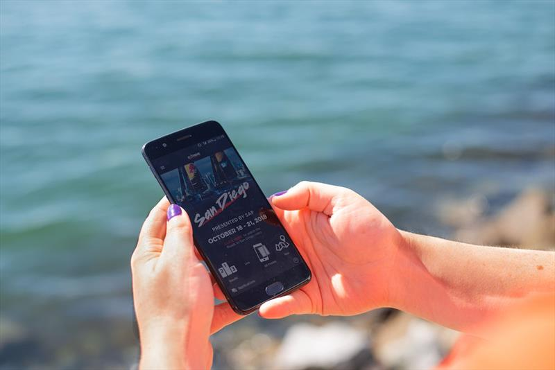 OC Sport and Spark Compass partner to launch the official Extreme Sailing Series™ App