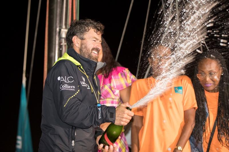 Phil Sharp finishes third in the Class40 on Imerys Clean Energy - Route du Rhum-Destination Guadeloupe - photo © Alexis Courcoux