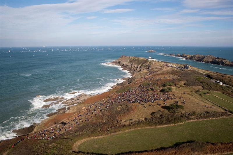 Start of the 2018 Route du Rhum-Destination Guadeloupe in Saint Malo. - photo © Alexis Courcoux