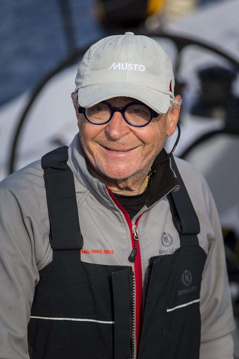 Eric de Turckheim - not winning didn't stop him smiling - Rolex Sydney Hobart Yacht Race 2018 photo copyright Andrea Francolini taken at Cruising Yacht Club of Australia