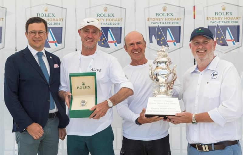 Alive secures overall victory - 2018 Rolex Sydney Hobart Yacht Race photo copyright Rolex / Studio Borlenghi taken at Cruising Yacht Club of Australia