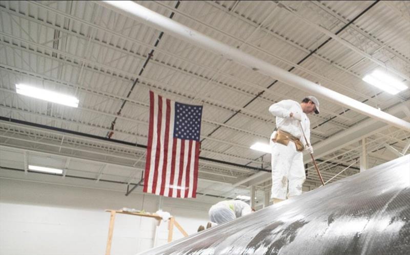 Stars Stripes Team USA unveils AC75 build and design details