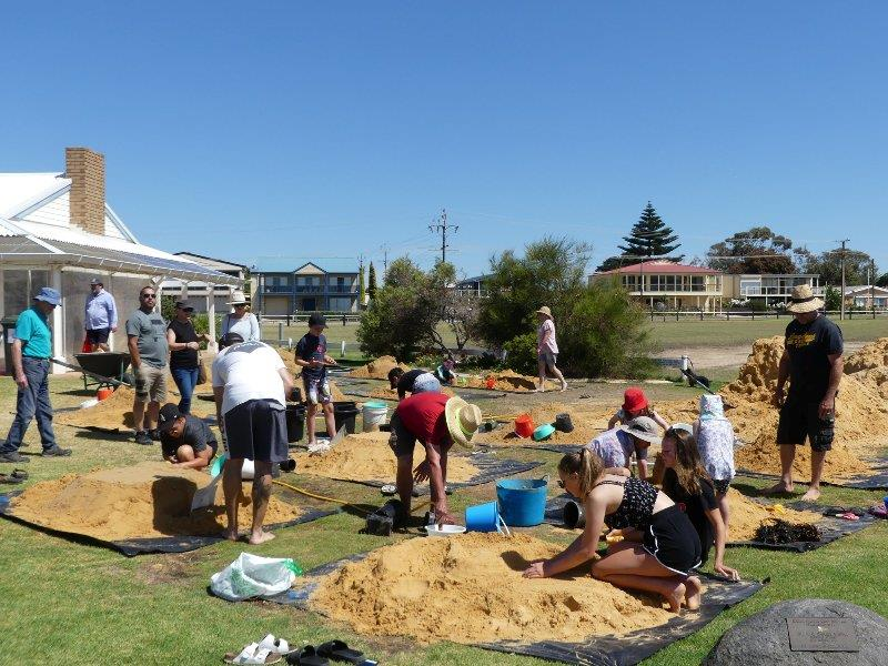 The sand castle competition was a huge hit for the children and families at the Aqua Spectacular Goolwa Regatta Week photo copyright Canvas Sails taken at Goolwa Regatta Yacht Club