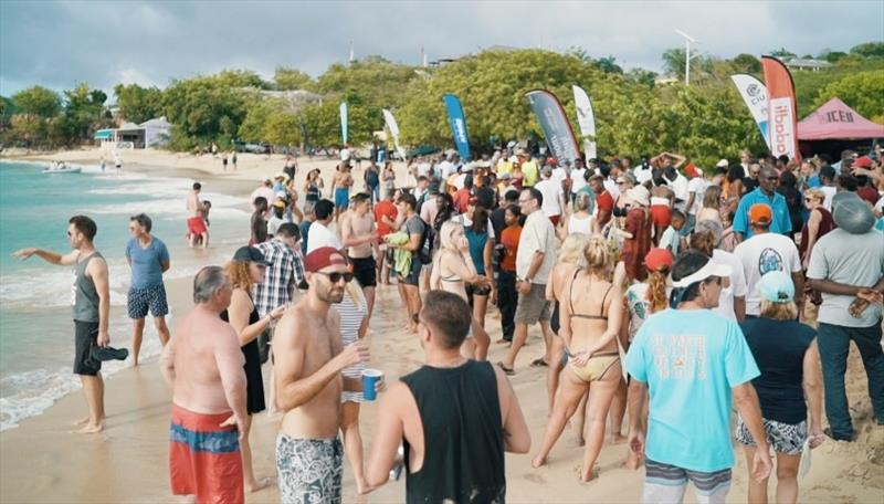 Beach party, Lay Day - Antigua Sailing Week - photo © Event Media