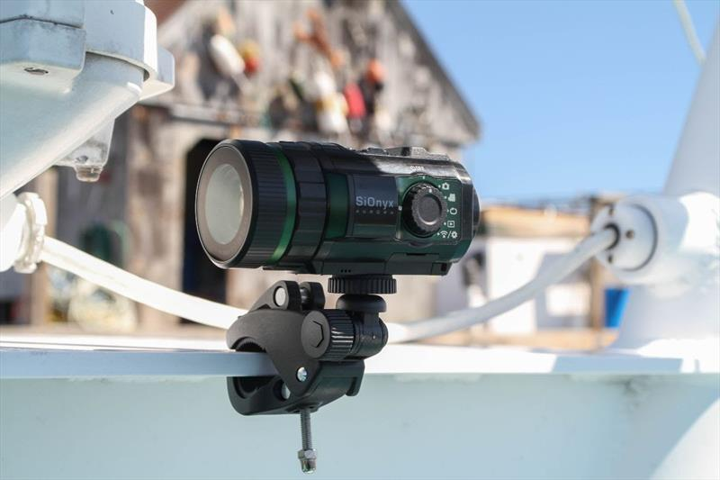 SiOnyx Night Vision Camera on Aurora Remote Mount - 2019 Pacific Sail & Power Boat Show photo copyright Mary Lou Thiercof taken at