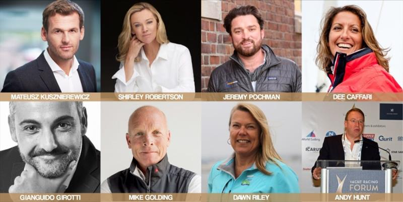 Yacht Racing Forum conference schedule and first speakers announced