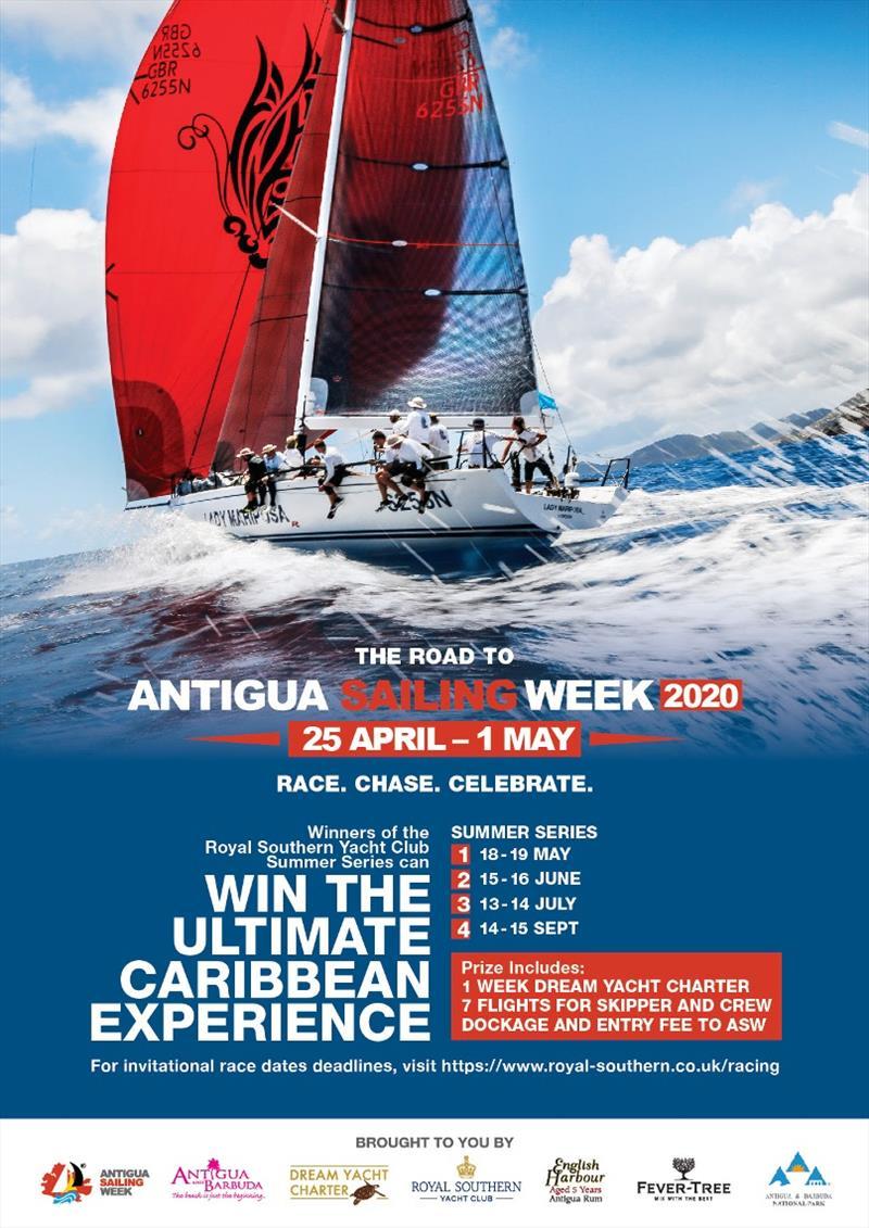 Road to Antigua Sailing Week 2020 kicks off at Royal Southern Yacht Club Summer Series