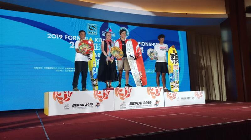 Prizegiving - 2019 Formula Kite Asian Championships in Beihai photo copyright IKA taken at