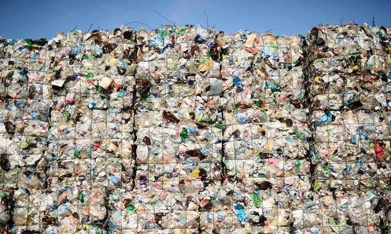 Only 9% of plastic has ever been recycled - photo © Clemens Bilan / EPA