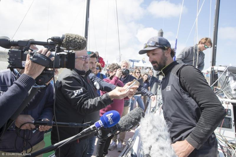Yoann Richomme, winner - 50th Solitaire Urgo Le Figaro - photo © La Solitaire 2019