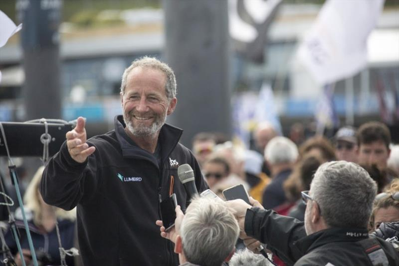 Michel Desjoyeaux - 50th Solitaire Urgo Le Figaro - photo © La Solitaire 2019