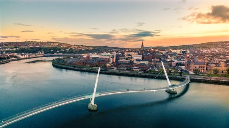 Derry-Londonderry most visited European city in sailing event's 23 year history - photo © Clipper Race