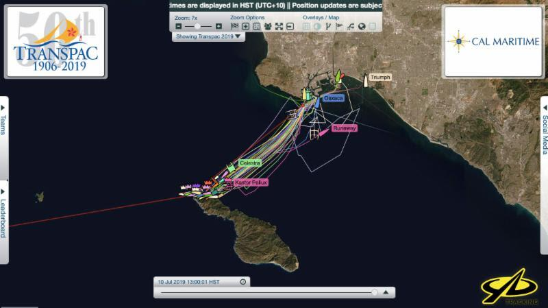 YB trackers will show real-time positions minus 4 hours - 2019 Transpac 50 - photo © Transpacific Yacht Club