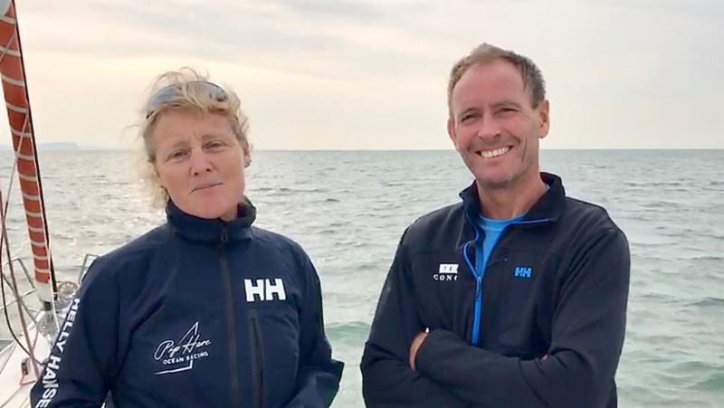 Pip Hare defies the odds in the Rolex Fastnet Race