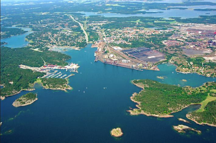 The large harbor at Oxelösund - ORC European Championship 2019 - photo © Photo supplied