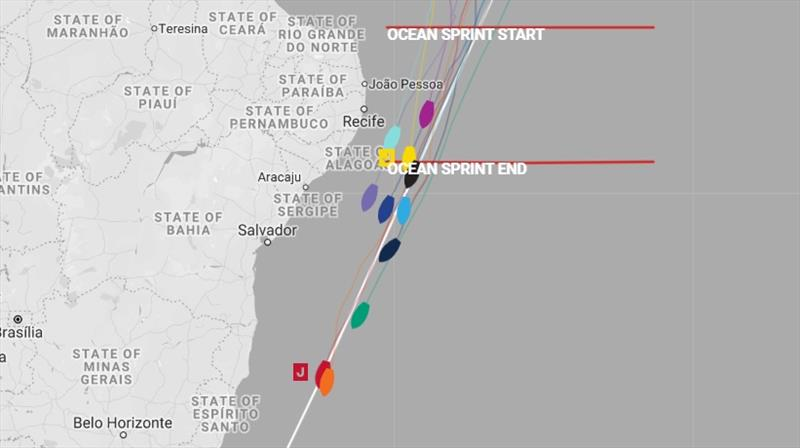 All positions correct at time of publishing. - The Clipper Race Leg 1 - Race 2, Day 19 - photo © Clipper Race