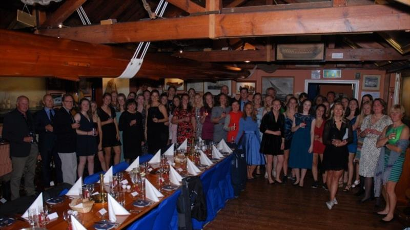 Inaugural Women's J70 Open Championship participants photo copyright Jo Gillespie taken at Royal Thames Yacht Club