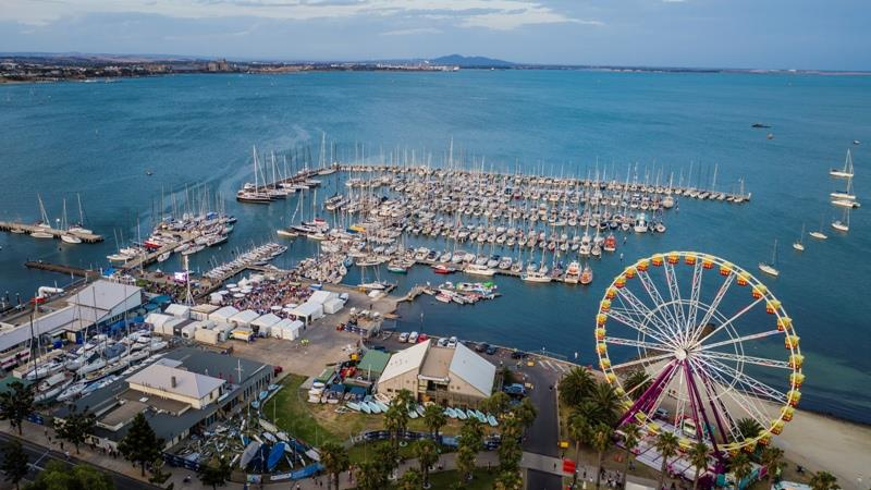 Full RGYC marina during the Festival of Sails - photo © Salty Dingo