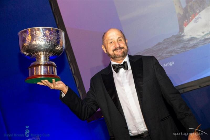 RORC Yacht of the Year - Wizard, Peter & David Askew's Volvo Open 70 (USA) photo copyright Sportography.tv taken at Royal Ocean Racing Club