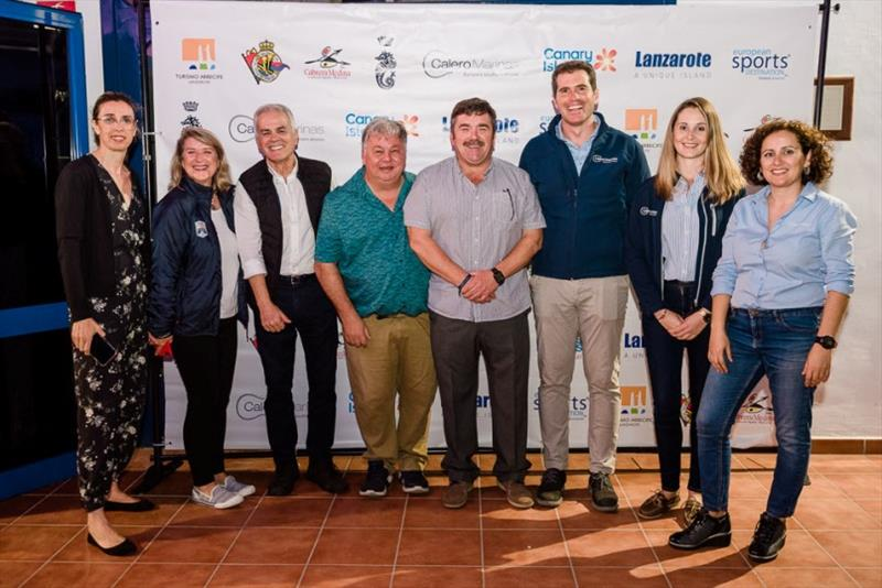 RORC, Real Club Náutico de Arrecife and Calero Marinas team at the welcome party for RORC Transat crews - photo © RORC