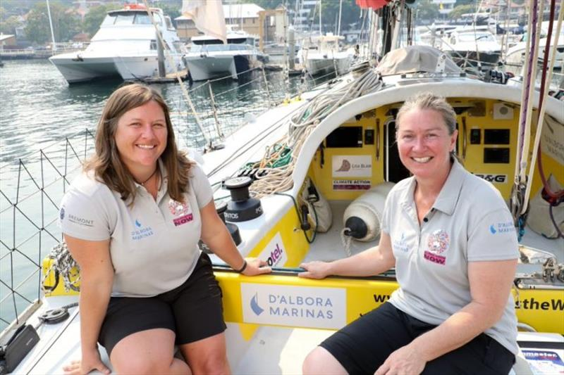 Lisa Blair and Jackie Parry - photo © d'Albora Marinas