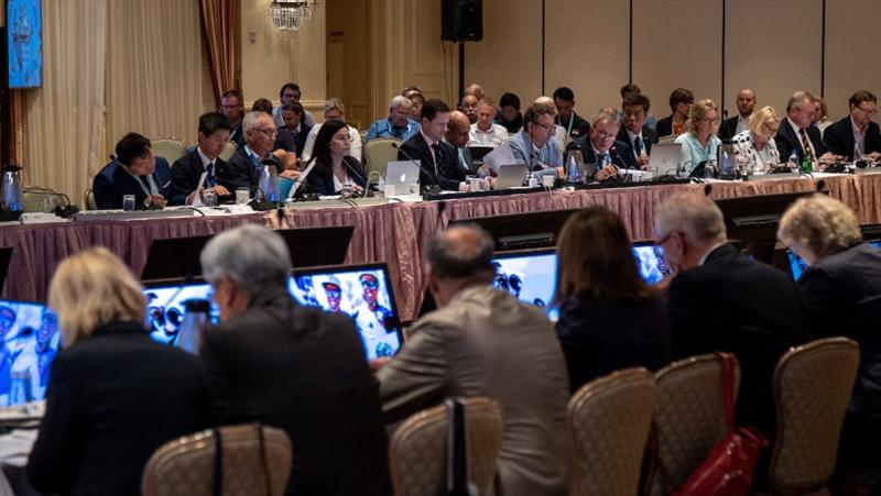 The Board considered the options for the Governance Reform - photo © World Sailing