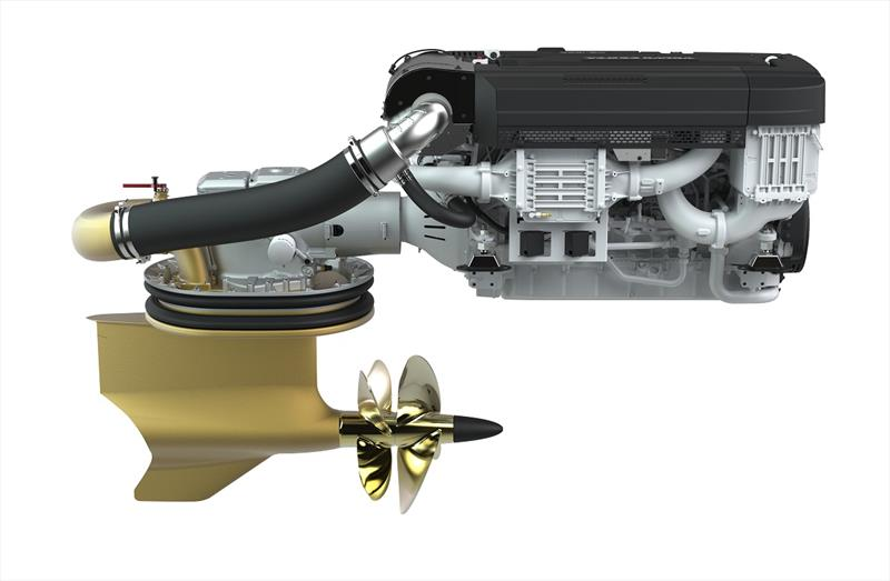 Volvo Penta's new edition D13 IPS1350 photo copyright Volvo Penta taken at