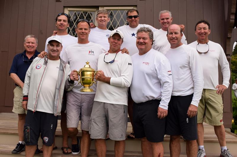 2019 Grandmasters Team Race champions - photo © Stuart Streuli / New York Yacht Club