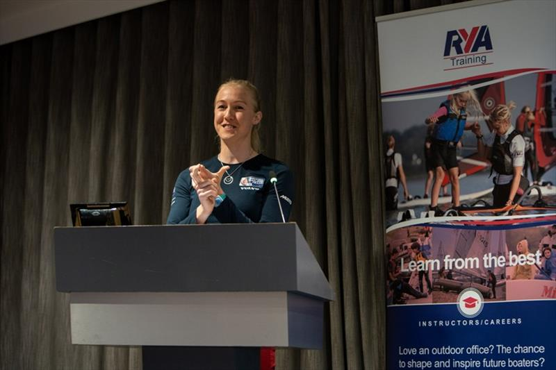 Anna Carpenter - RYA Training Conference - photo © RYA
