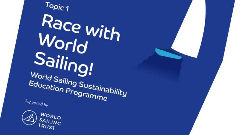 World Sailing launch youth sustainability education materials for sailing clubs - photo © World Sailing