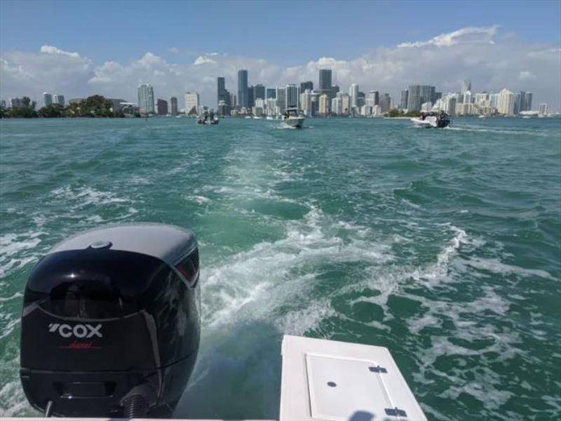 Cox's 300hp diesel outboard has successfully passed EPA testing photo copyright Cox Powertrain taken at
