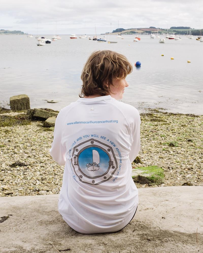 Romy Rundle winner of Ellen MacArthur Cancer Trust and Musto t-shirt competition photo copyright Scott Wilson taken at