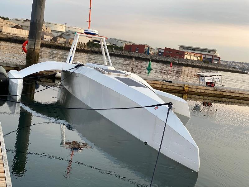 Mayflower Autonomous Ship on the water - photo © MSUBS Ltd
