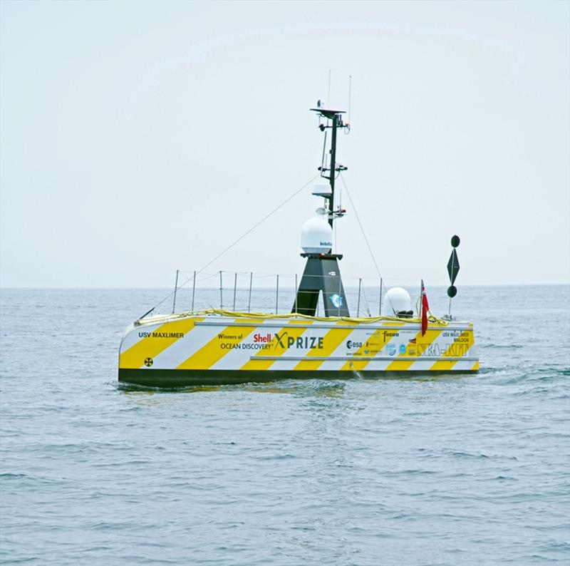 SEA-KIT USV en route back to Plymouth - photo © Rich Evans, ENP Media
