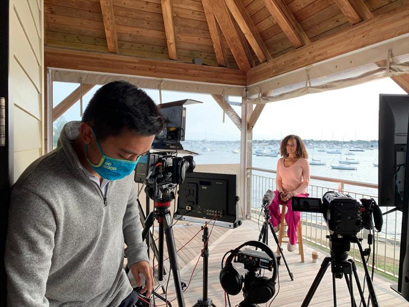 The Ocean Race Summit in Newport, RI, USA, was hosted live with Danni Washington at Sail Newport and co-hosted by Niall Myant-Best and Liz Bonnin. photo copyright The Ocean Race taken at