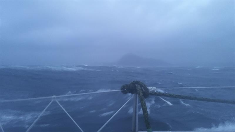 And that would be Cape Horn as seen by Lisa... - photo © LisaBlairSailsTheWorld
