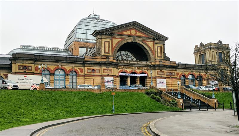 Alexandra Palace in London hosted the 2020 RYA Dinghy Show photo copyright Mark Jardine taken at RYA Dinghy Show