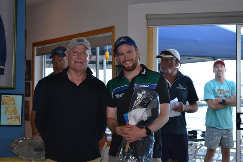 Laser Full Rig winner Sam King - Tamar Marine Blockbuster Weekend Regatta 2021 photo copyright Michelle Jones taken at Port Dalrymple Yacht Club