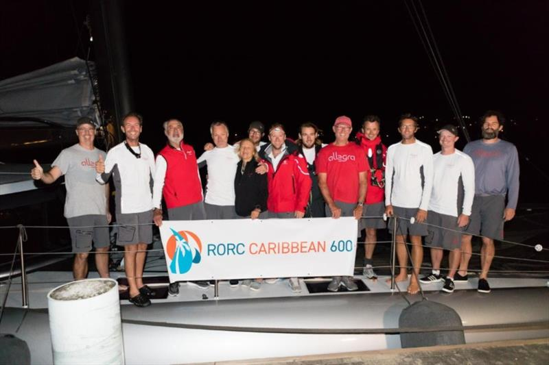 MOCRA winners - Adrian Keller's Nigel Irens-designed catamaran Allegra - 2020 RORC Caribbean 600 photo copyright RORC / Arthur Daniel taken at Royal Ocean Racing Club and featuring the MOCRA class