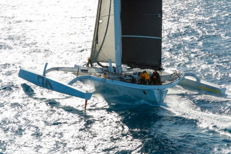 It was superb that Jason Carroll's MOD 70 Argo (USA) made it to the startline after their capsize earlier in the week - RORC Caribbean 600 - photo © RORC / Arthur Daniel